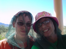 ULURU 4 C and me with fly nets.JPG